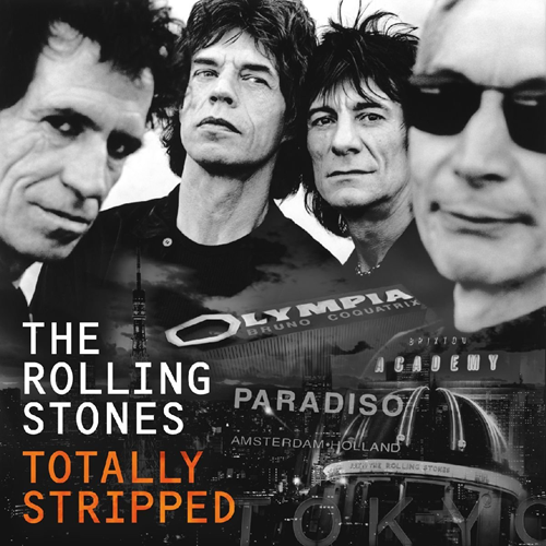 The Rolling Stones - Totally Stripped: Earbook Edition (UK-import) (4 SD Blu-ray + CD)