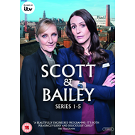 Scott And Bailey - Sesong 1 - 5 (UK-import) (DVD)