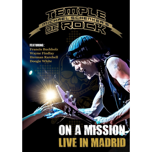 Michael Schenker's Temple Of Rock - On A Mission: Live In Madrid (DVD)