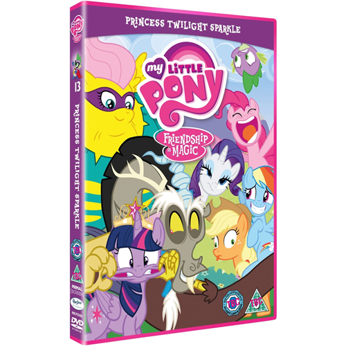 My Little Pony - Friendship Is Magic: Princess Twilight Sparkle (UK-import) (DVD)