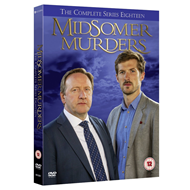 Midsomer Murders - Sesong 18 (UK-import) (DVD)