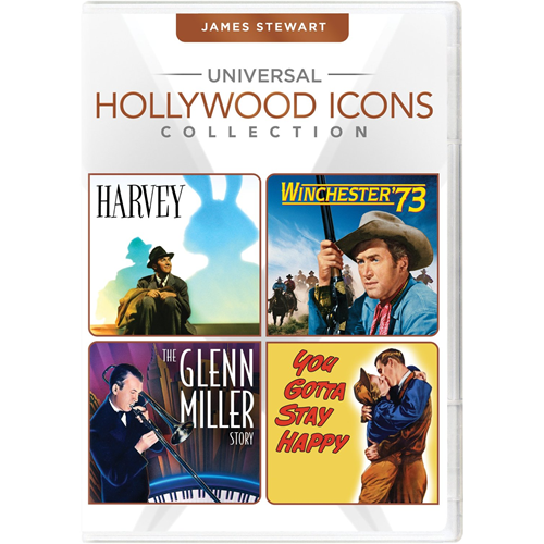 Universal Hollywood Icons Collection: James Stewart (DVD - SONE 1)