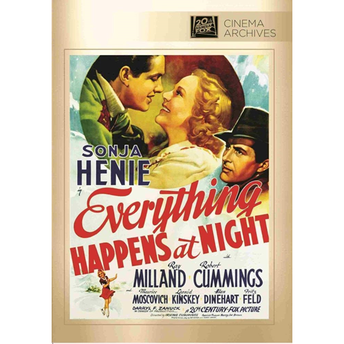 Everything Happens At Night (DVD)