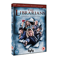 The Librarians - Sesong 2 (UK-import) (DVD)