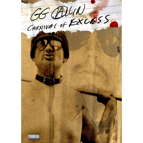 GG Allin - Carnival Of Excess (DVD)