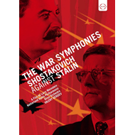 Produktbilde for Shostakovich Against Stalin - The War Symphonies (DVD)
