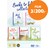 Produktbilde for Books To Film Collection (DK-import) (DVD)