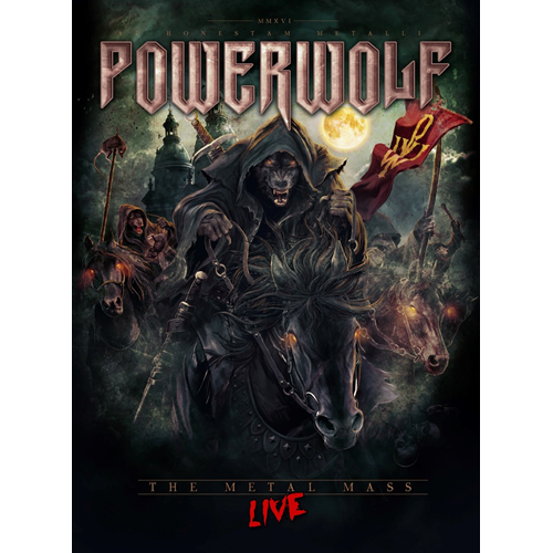 Powerwolf - The Metal Mass - Live (2 Blu-ray + CD)