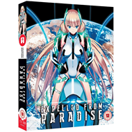 Expelled From Paradise (UK-import) (Blu-ray + DVD)