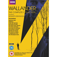 Produktbilde for Wallander - The Complete Series (UK-import) (DVD)