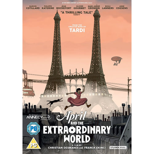 April And The Extraordinary World (UK-import) (DVD)