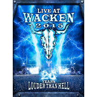 Live At Wacken 2015 - 26 Years Louder Than Hell (2DVD + 2CD)