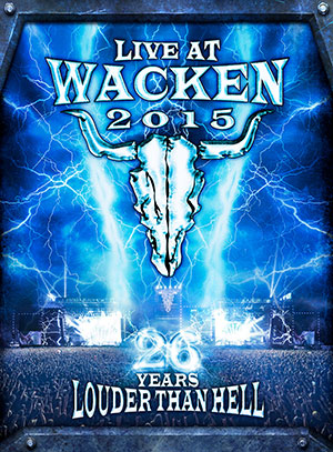 Live At Wacken 2015 - 26 Years Louder Than Hell (2 Blu-ray + 2CD)
