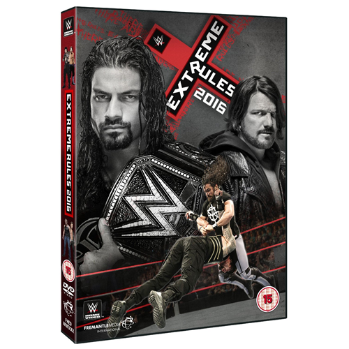 WWE: Extreme Rules 2016 (UK-import) (DVD)