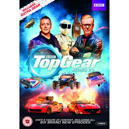 Top Gear - Sesong 23 (UK-import) (DVD)