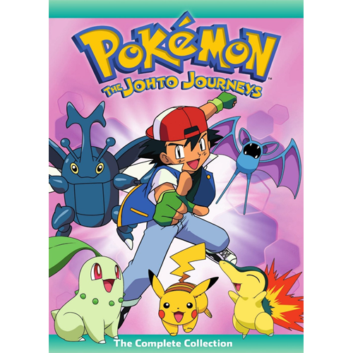 Pokemon - The Johto Journeys - The Complete Collection (DVD - SONE 1)