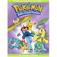 Pokemon - Johto League Champions - The Complete Collection (DVD - SONE 1)