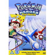 Pokemon Heroes The Movie (UK-import) (DVD)