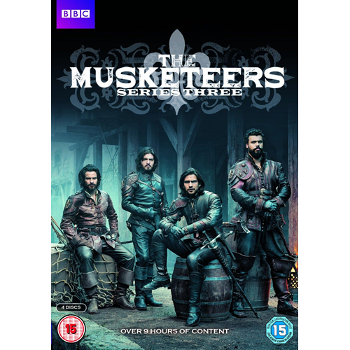 The Musketeers - Sesong 3 (UK-import) (DVD)
