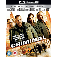 Criminal (UK-import) (4K Ultra HD + Blu-ray)