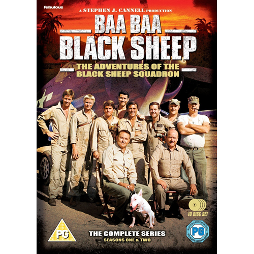 Baa Baa Black Sheep - The Complete Series (UK-import) (DVD)