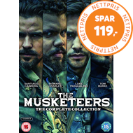 Produktbilde for The Musketeers - The Complete Collection (UK-import) (DVD)