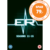 Produktbilde for ER - Sesong 11 - 15 (UK-import) (DVD)