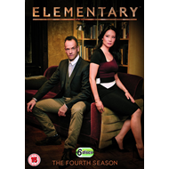 Elementary - Sesong 4 (UK-import) (DVD)