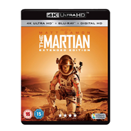 The Martian - Extended Edition (UK-import) (4K Ultra HD + Blu-ray)