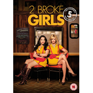 2 Broke Girls - Sesong 5 (UK-import) (DVD)