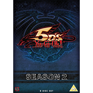 Yu-Gi-Oh! 5Ds - Sesong 2 (UK-import) (DVD)