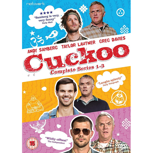 Cuckoo - Sesong 1 - 3 (UK-import) (DVD)