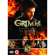 Grimm - Sesong 5 (UK-import) (DVD)