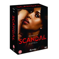 Produktbilde for Scandal - Sesong 1 - 5 (UK-import) (DVD)