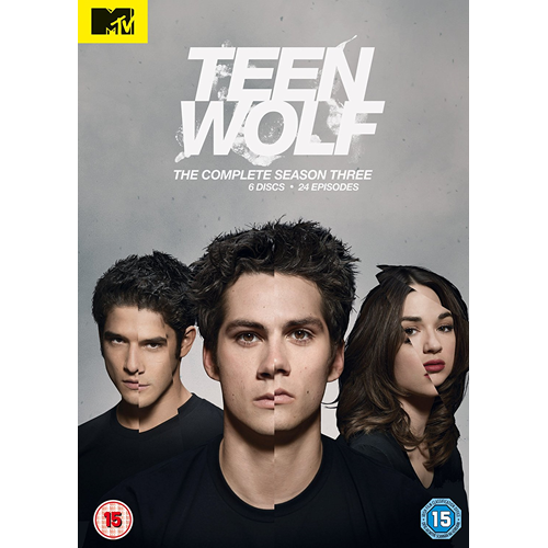 Teen Wolf - Sesong 3 (UK-import) (DVD)