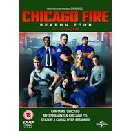 Chicago Fire - Sesong 4 (UK-import) (DVD)