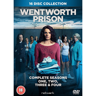 Wentworth Prison - Sesong 1 - 4 (UK-import) (DVD)