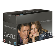 Produktbilde for Castle - Sesong 1-8 - Den Komplette Serien (UK-import) (DVD)