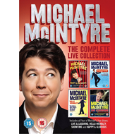 Michael McIntyre - The Complete Live Collection (UK-import) (DVD)