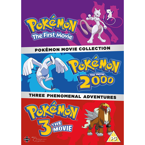 Pokemon - Movie Collection (UK-import) (DVD)
