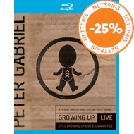 Produktbilde for Peter Gabriel - Growing Up Live & Still Growing Up Live/Unwrapped (UK-import) (Blu-ray + DVD)