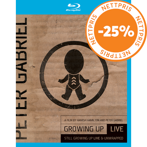 Peter Gabriel - Growing Up Live & Still Growing Up Live/Unwrapped (UK-import) (Blu-ray + DVD)