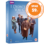Produktbilde for I Didn't Know You Cared - The Complete Series (UK-import) (DVD)