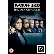 Law And Order - Special Victims Unit - Sesong 17 (UK-import) (DVD)