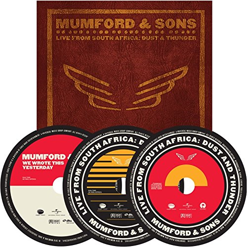 Mumford & Sons - Live From South Africa: Dust And Thunder - Deluxe Edition (Blu-ray + Blu-ray A + CD)