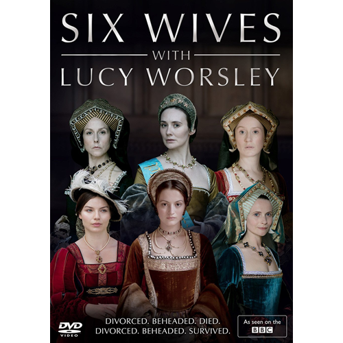 Six Wives - With Lucy Worsley (UK-import) (DVD)
