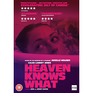 Produktbilde for Heaven Knows What (UK-import) (DVD)