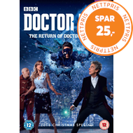 Produktbilde for Doctor Who: The Return Of Doctor Mysterio - 2016 Christmas Special (UK-import) (DVD)