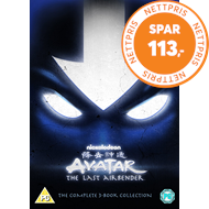 Produktbilde for Avatar - The Last Airbender: The Complete 3-Book Collection (UK-import) (DVD)