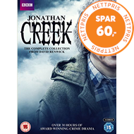 Produktbilde for Jonathan Creek: The Complete Collection (UK-import) (DVD)